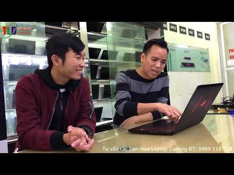 Trên Tay Laptop Gaming Hót Nhất 2018 ASUS ROG STRIX GL502VM GTX1060 6GB - 동영상