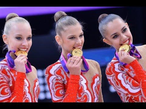 Team Russia - Rhythmic Gymnastics Montage