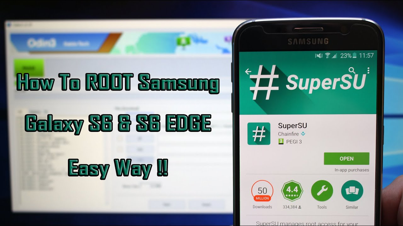 Root Galaxy S6 & S6 EDGE on Android 6 0 1 Marshmallow (SM-G920 SM-G925F)  easy way!