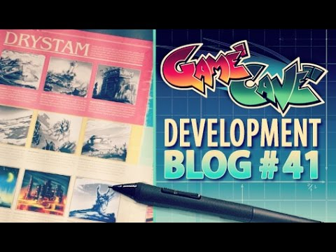 Game Cave Dev #041- Real Time Digi Paint
