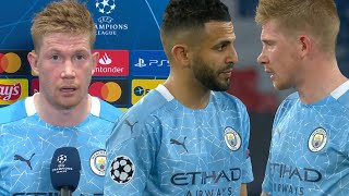 """He asked me if he could take it!"" De Bruyne explains Mahrez free-kick vs. PSG"