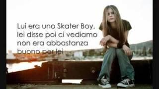 Avril Lavigne, Sk8er Boy Traduzione in italiano.