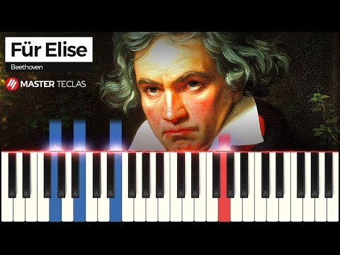 💎 Für Elise - Beethoven  Piano Tutorial 💎
