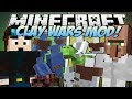 Minecraft | CLAY WARS MOD! (Trayaurus vs TDM!) | Mod Showcase