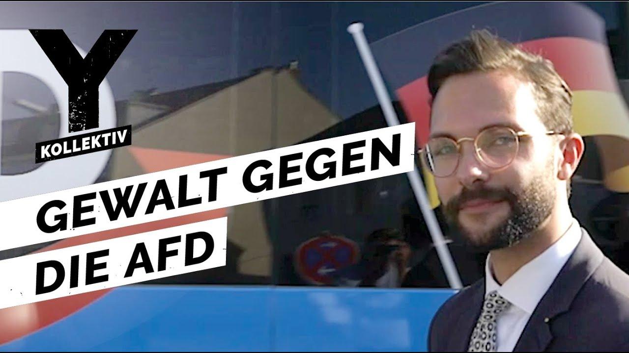Gewalt & Bedrohung gegen AFD-Politker