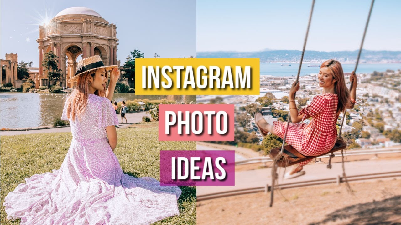 [VIDEO] – How to Pose for Photos Like a PRO! Recreating Instagram Photo Ideas!