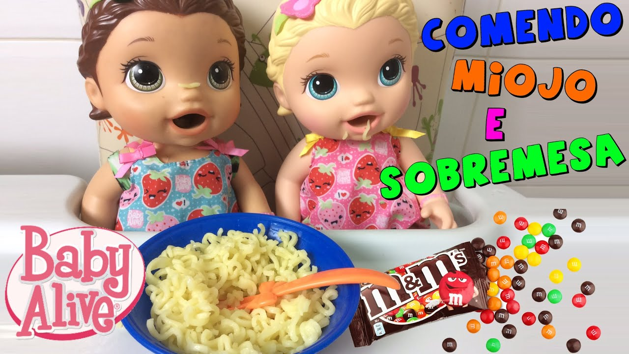 Baby Born Eating Baby Alive Food