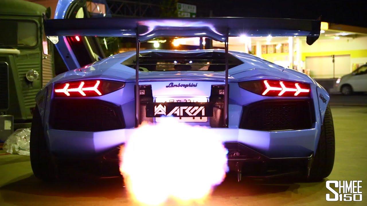 BEST Of Lamborghini Aventador FLAMES