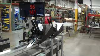 Superior-PHS: Maxim RX Kitting Collator. Speeds up to 165 per minute. Kitting Remittance envelope