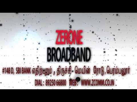 ZERONE Broadband Internet - Promo Video (Tamil Version)