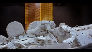 ISS in 4K | SPACEWALK | ВЫХОД В ОТКРЫТЫЙ КОСМОС