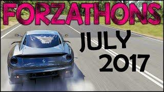 ALL #Forzathons July 2017 - Ferrari 599XX + Horizon Editions (FH3 July 2017 Forzathon Challenges)