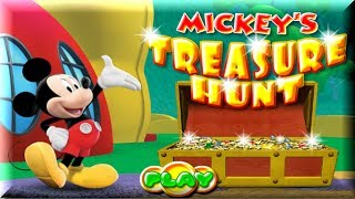 Mickey Mouse Clubhouse - Treasure Hunt - Mickey Mouse Game