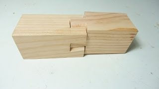 "Impossible Dovetail ""the right way"""