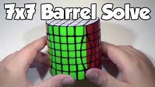 7x7 barrel solve read description