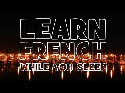 LEARN FRENCH WORDS IN YOUR SLEEP