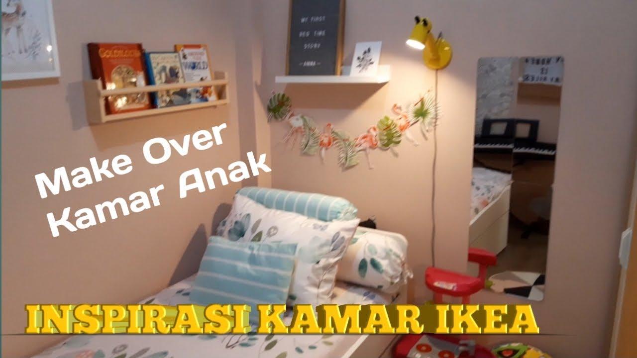 Make over kamar tidur anak   Inspirasi kamar IKEA - YouTube