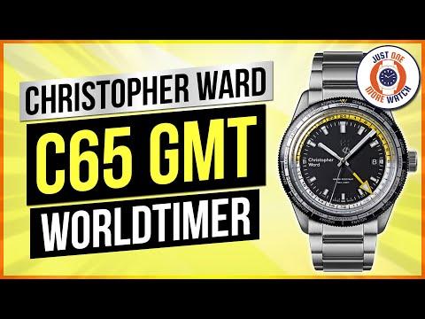 Christopher Ward C65 GMT Worldtimer Unboxing!