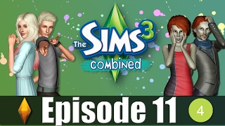 Lets play The Sims 3 Combined Episode 11 (Not Afraid of Ghosts)