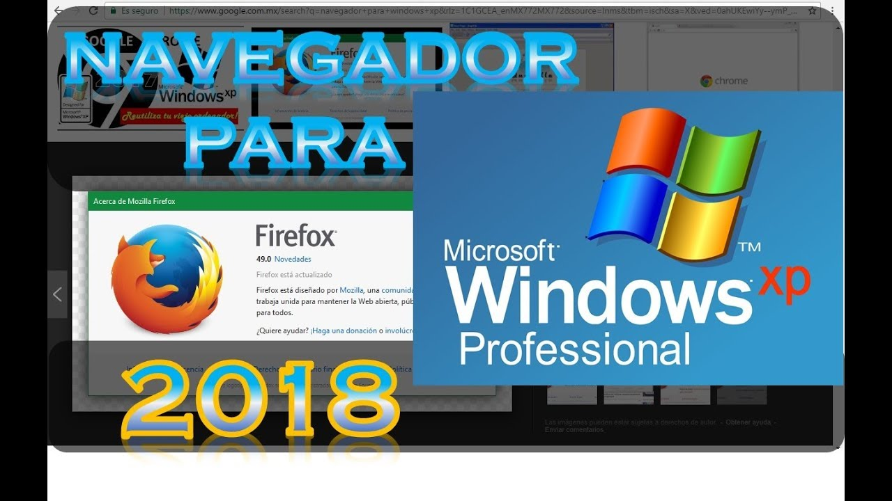 firefox for windows xp professional sp3