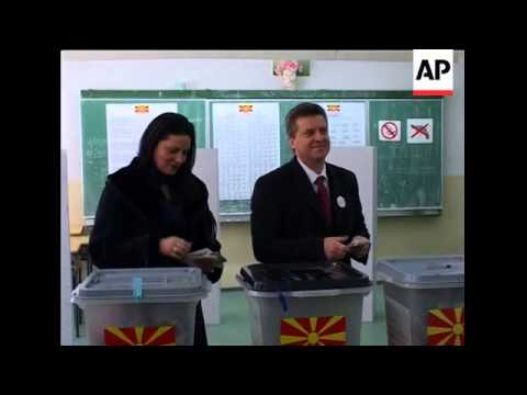 Candidates cast votes in presidential election
