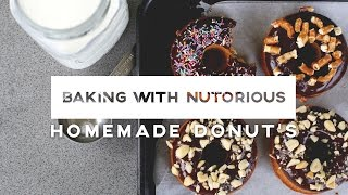 Peanut Butter Glazed Donuts | Baking With Nutorious | Ep 7