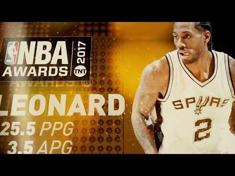 2017 NBA Awards: MVP Nominee: Kawhi Leonard
