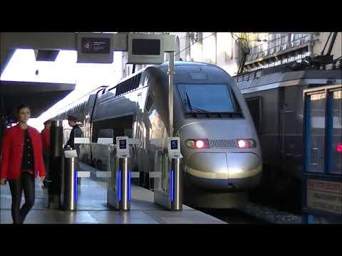 Train à Marseille St Charles le 5/01/2018