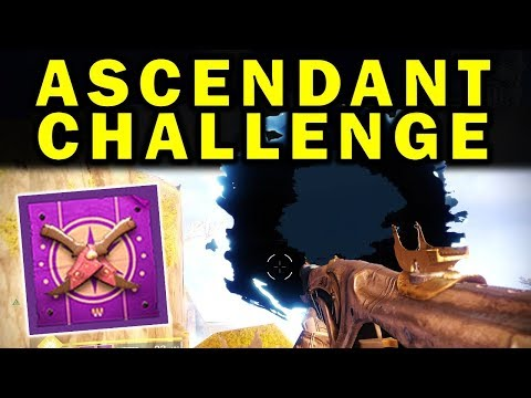 Destiny 2: NEW ASCENDANT CHALLENGE GUIDE! - Extra-Powerful Gear! | Forsaken