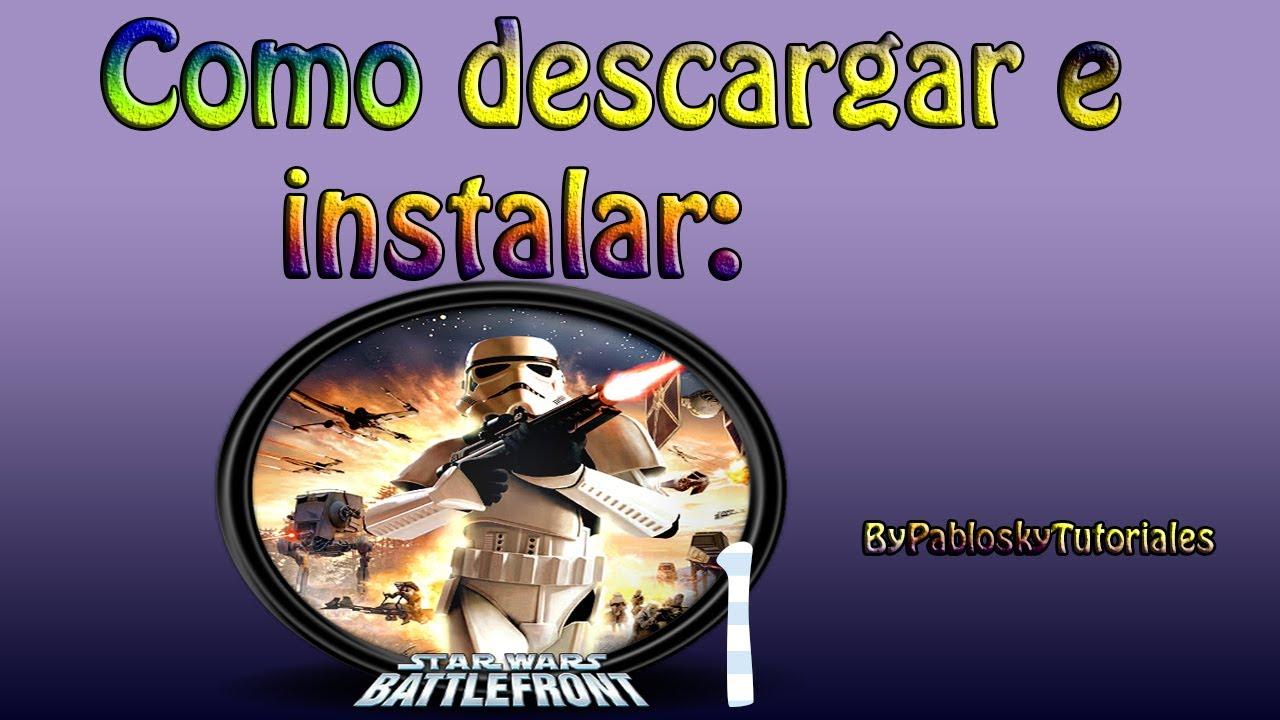 Star Wars Battlefront II [PS2][Español][Mega][MediaFire ...