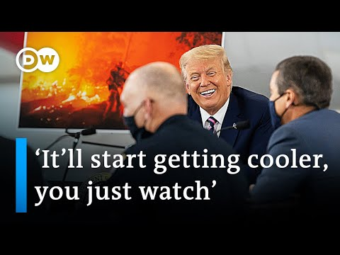 Donald Trump dismisses climate change influence on US wildfires | DW News