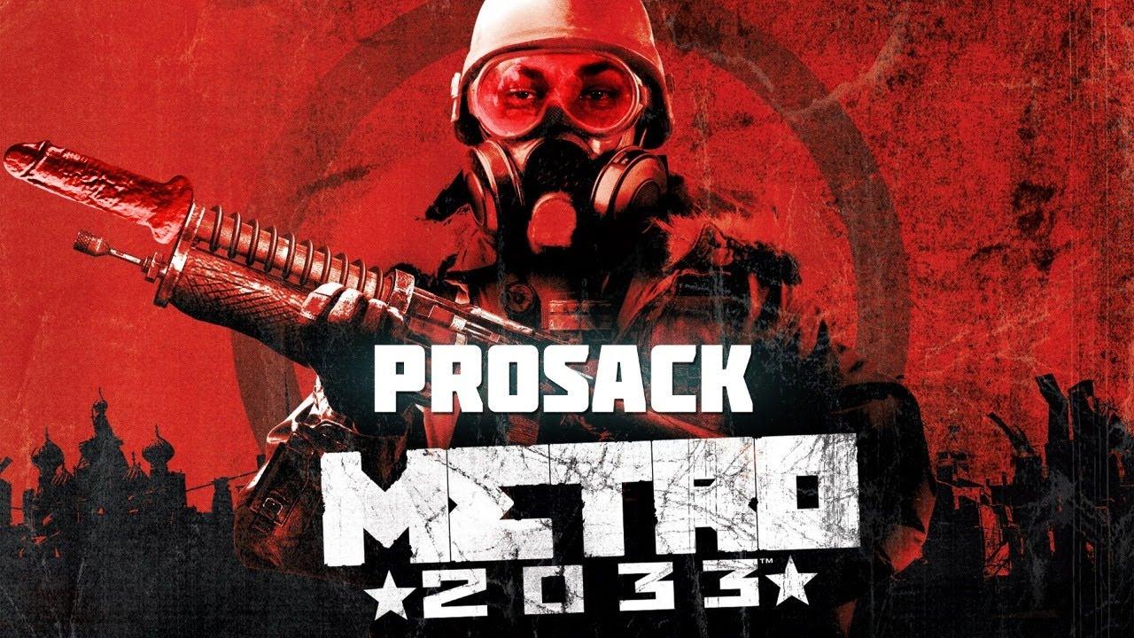 Играем с женой в Metro 2033   prosack game streams