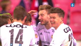 Two Bendtner goals vs. Brann