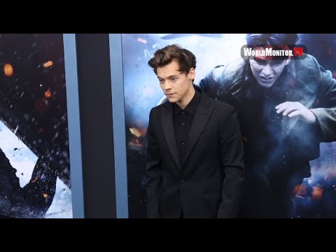 Harry Styles arrives at 'Dunkirk' New York Film Premiere