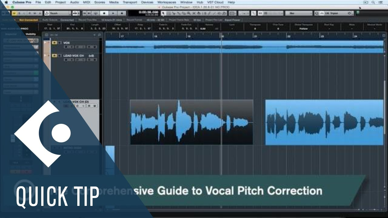 A Comprehensive Guide to Vocal Pitch Correction | Vocal Production
