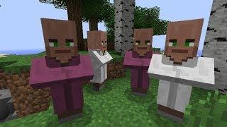 Как сделать деревню жителей в minecraft [Minecraft Механизмы](Как сделать деревню жителей в майнкрафте без модов, багов, каких-то уловок и тд. Все что потребуется - спауне..., 2014-05-24T09:39:12.000Z)