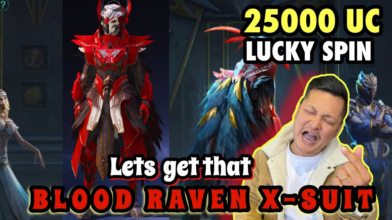 Download 25000UC RAVEN X-SUIT SPIN || THIS IS MY FINAL SPIN .. I'M BROKE NOW || MR. FOODIE PLAYS