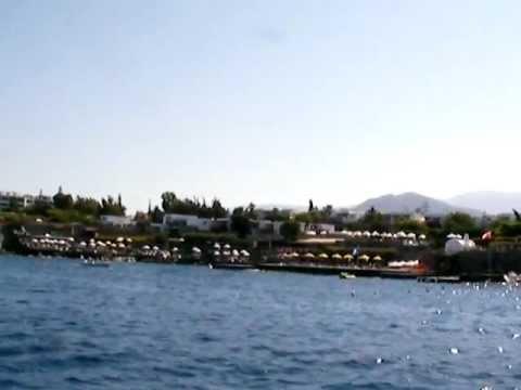 Beautiful sea side homes on Greek island of Agios Nikolas