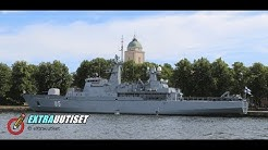 Merivoimien komentaja, lippueamiraali Jori Harjun tiedotustilaisuus