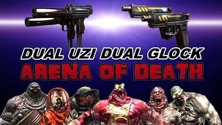 Dead Trigger 2 Arena Wave20 Dual Glock and Dual Uzi