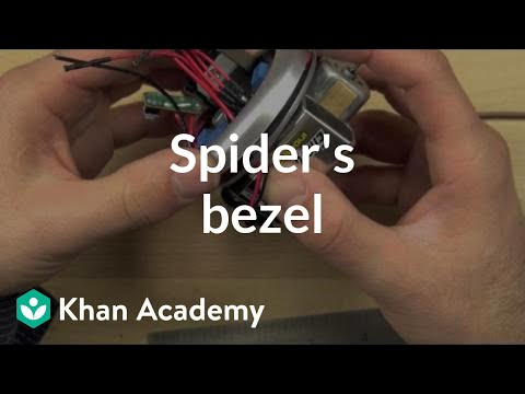 Spider's bezel | Home-made robots | Electrical engineering | Khan Academy