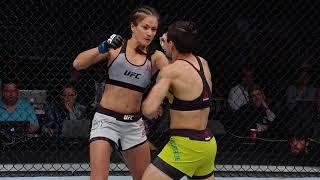 UFC 237: Jéssica Bate-Estaca revê e comenta seu último nocaute