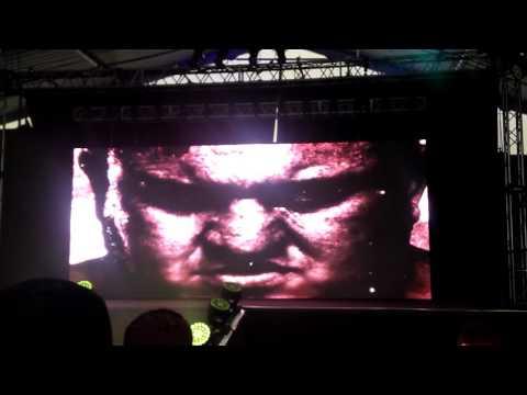 Samoa Joe intro at NXT Download Festival 2016