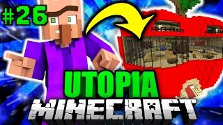 ER wohnt IN EINEM APFEL?! - Minecraft Utopia #026 [Deutsch/HD]