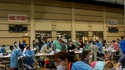 Free Dental Care in San Antonio. Texas Mission of Mercy