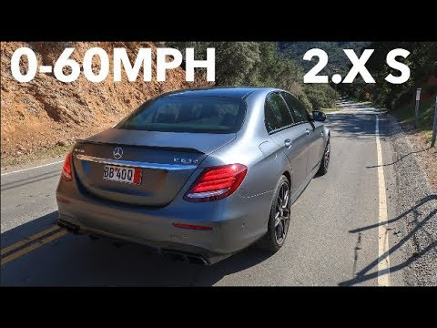 My Mercedes Amg E63s Destroys The New M5 0 60 Time Youtube