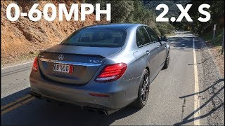 MY MERCEDES AMG E63S DESTROYS THE NEW M5 0-60 TIME!