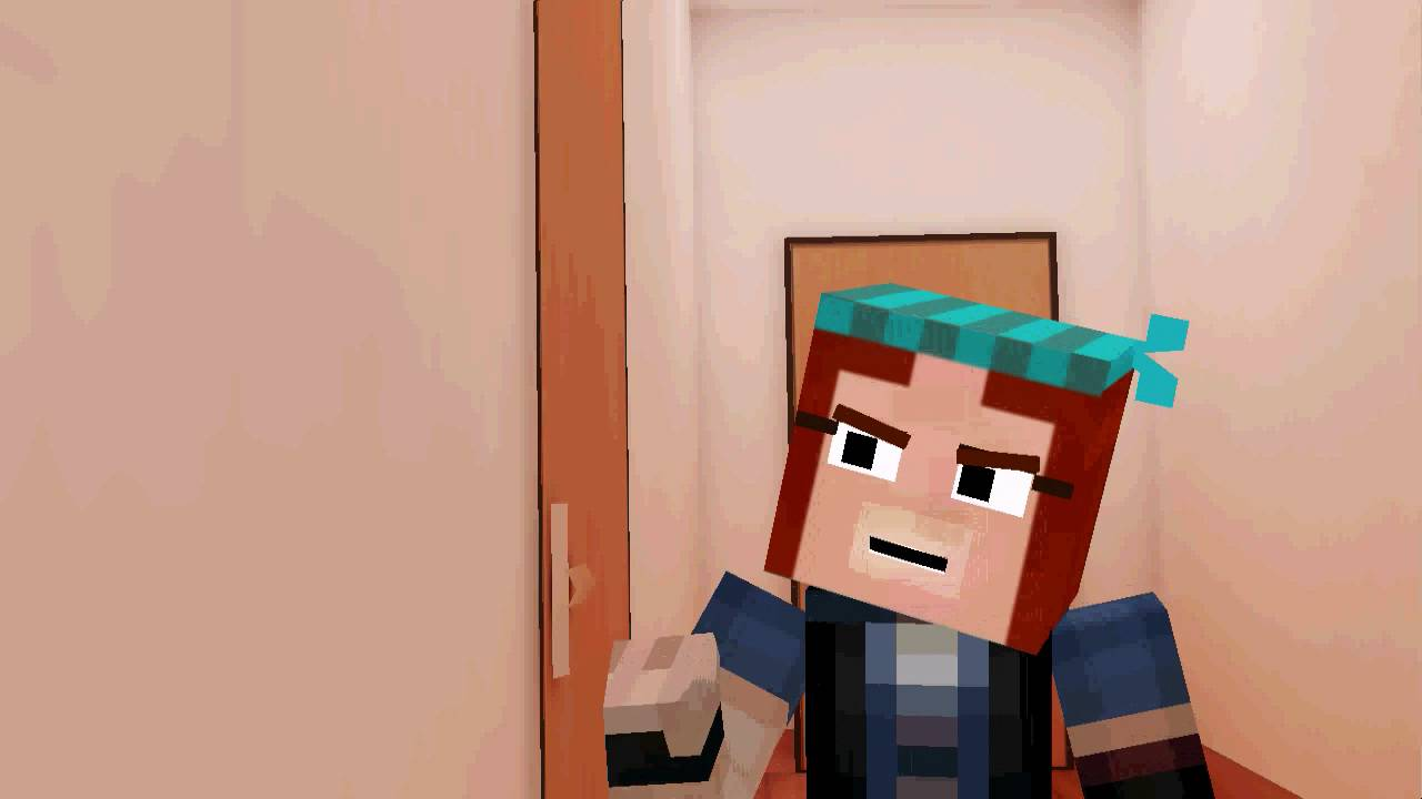 Mmd You Locked The Door Lukas Minecraft Story Mode Youtube