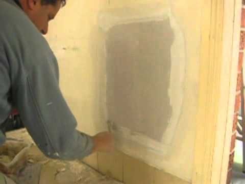 Large Plaster Wall Hole Repair Tip Part Two Youtube
