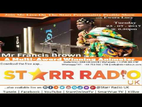 Starr Radio UK Channel - STARR TV: Personality Profile Show with Lucy